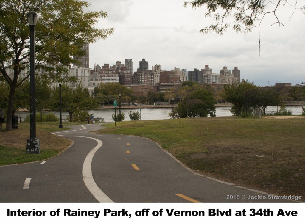 Rainey Park , Vernon Blvd and 34th Ave