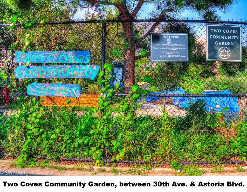 Two Coves Community Garden, 30 ave and Astoria Blvd, Astoria NY