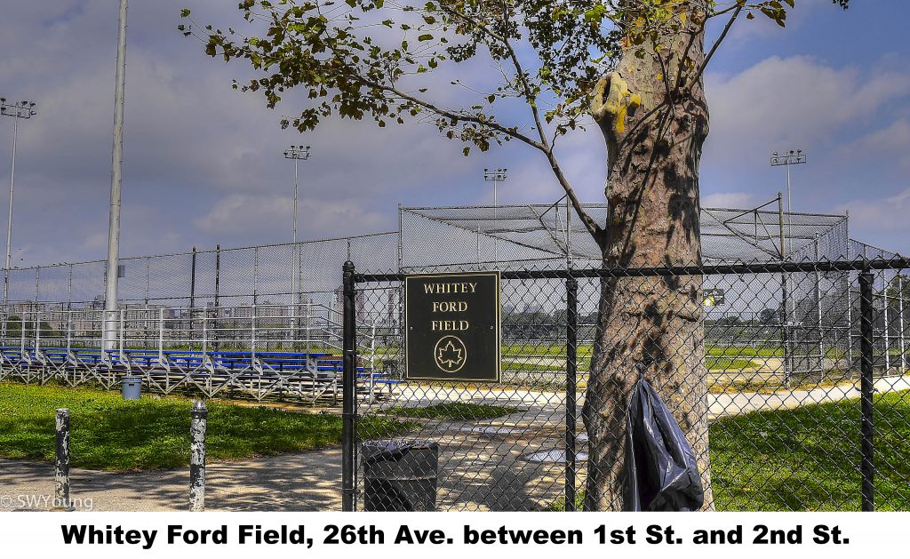 Whitey Ford Field, 26th ave btwn 1st and 2nd sts, Astoria NY
