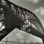 Bridges changed the way people traveled between Astoria and Manhattan. Photo by Bernice Abbott. Courtesy of the New York Public Library.