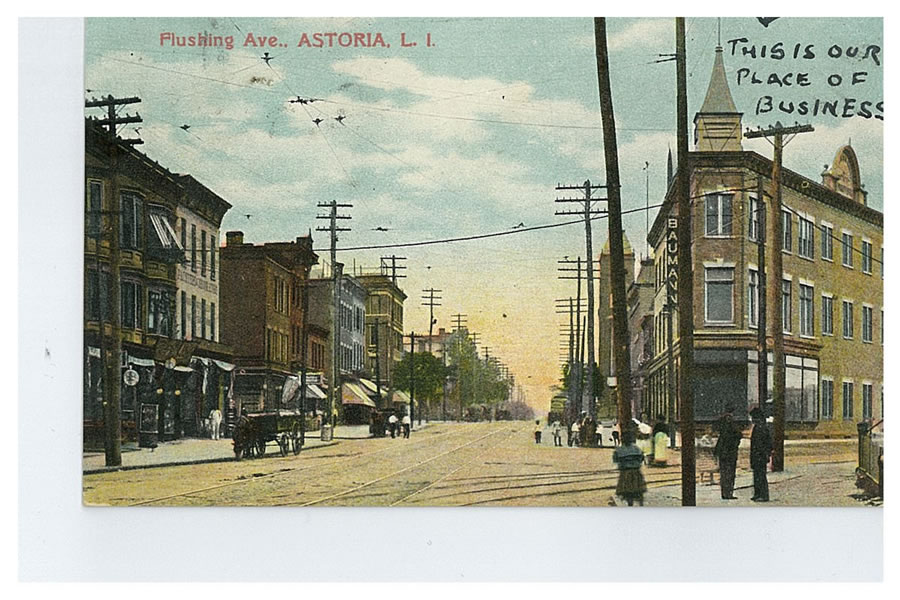 Another view of the Astoria Flatiron building. Courtesy of Dominique Perot.