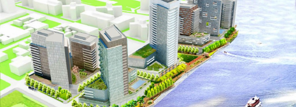 Rendering of the Hallets Point Development