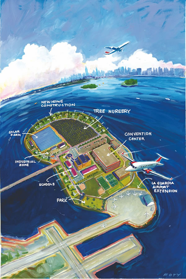 NEW IDEAS FOR RIKERS ISLAND
