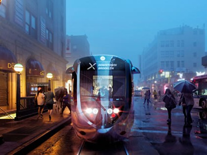 STREETCAR FROM ASTORIA TO BROOKLYN PROPOSED