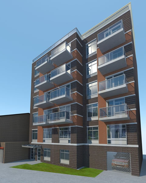 NEW RESIDENTIAL BUILDING FOR WELLING COURT