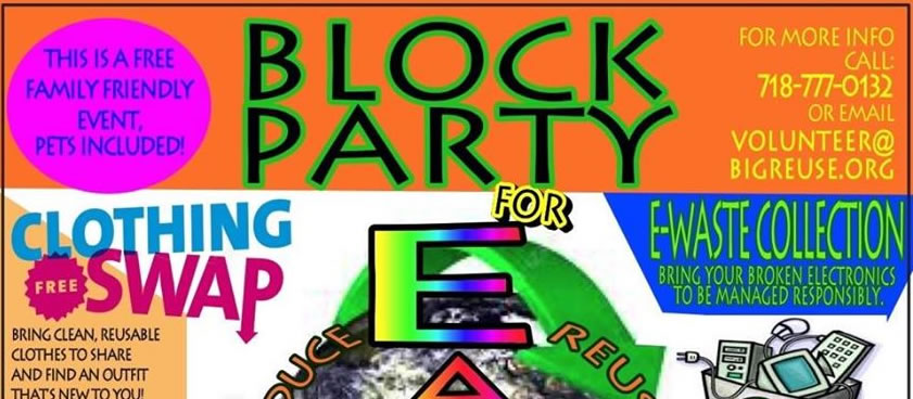 Block Party for Earth Event