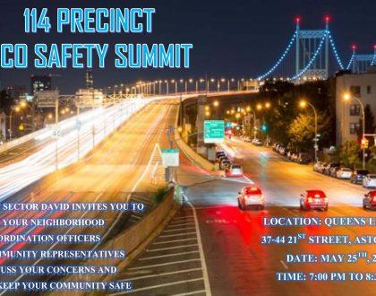 114th Precinct NCO Safety Summit