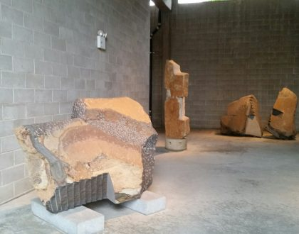 July at the Noguchi Museum