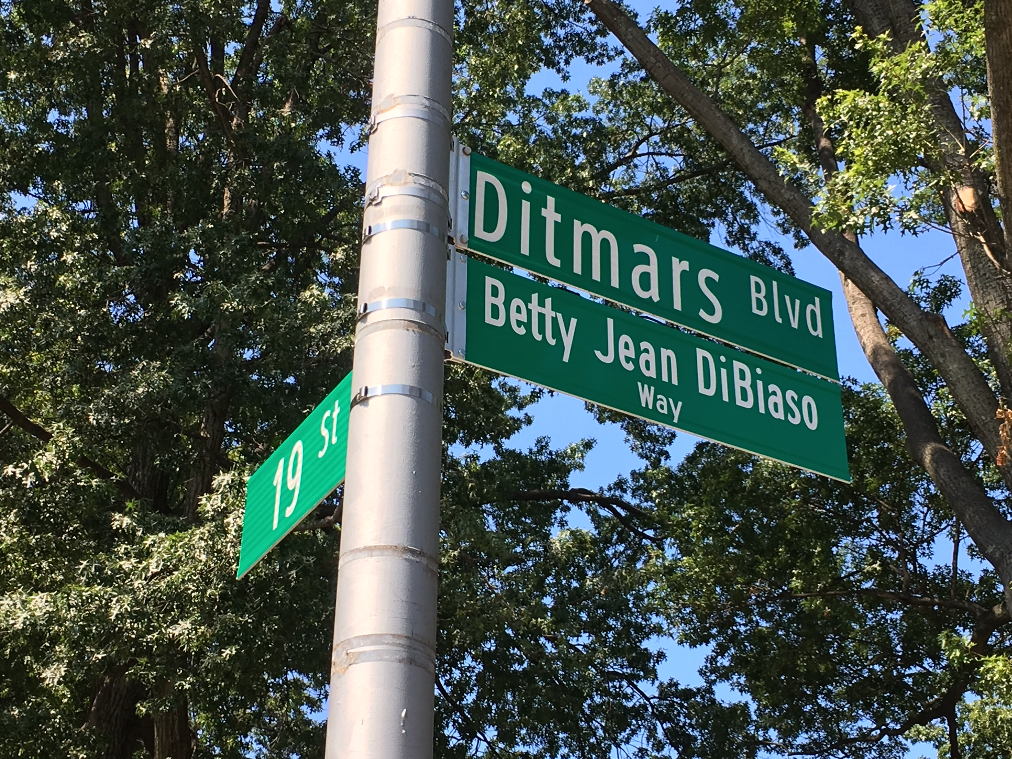 Street Renamed for Betty Jean DiBiaso
