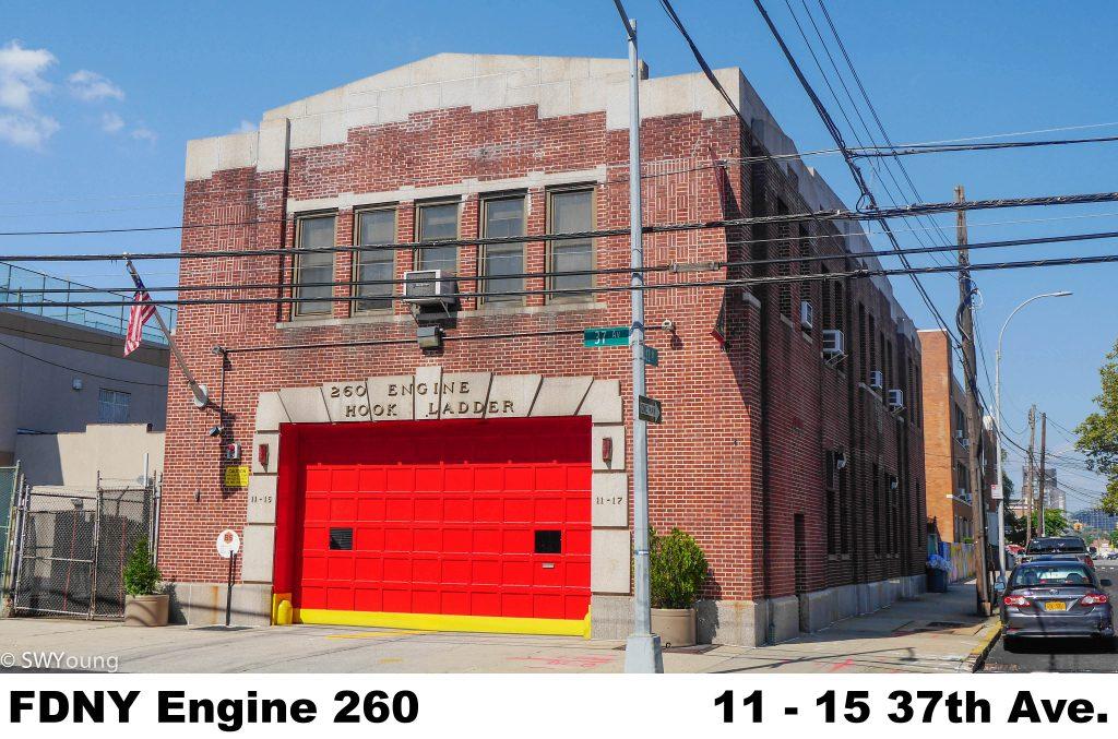 FDNY Engine 260 11-17 37th ave.LIC NY