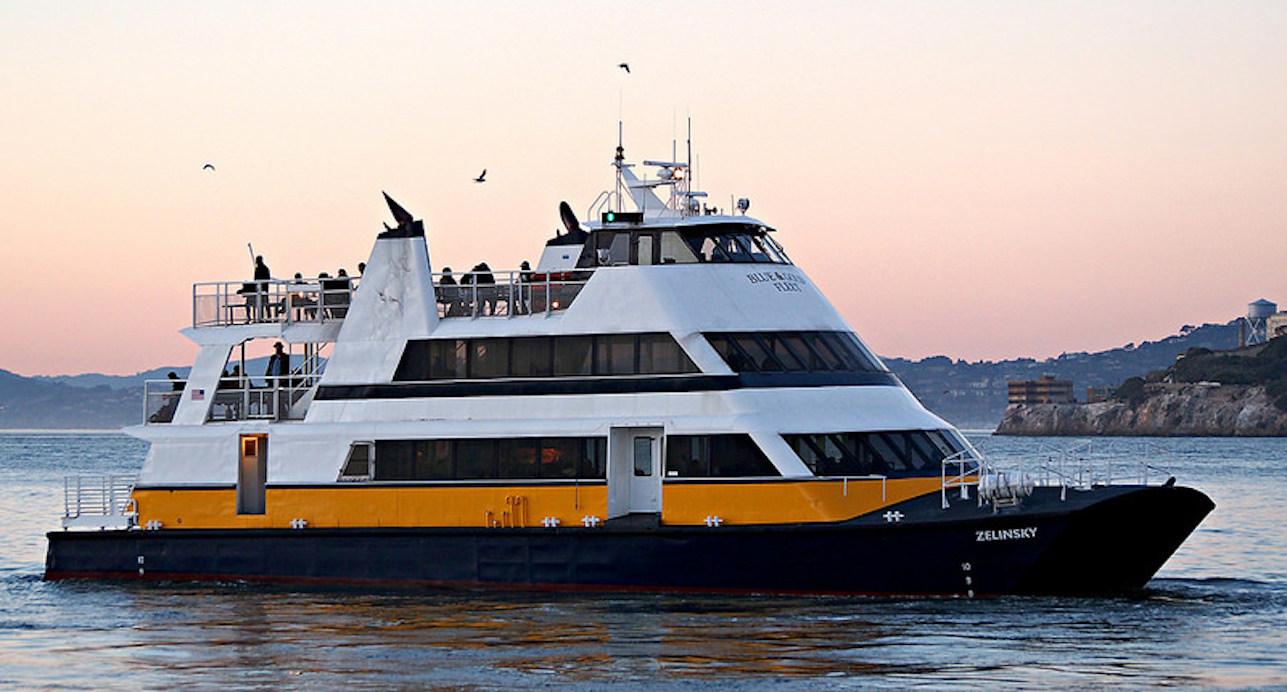 the ferry zelinsky offered free rides