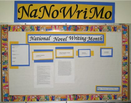 Has NaNoWriMo Got You Down?
