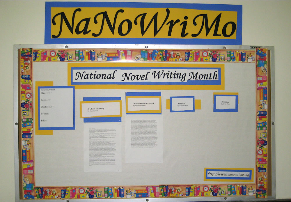 Has NaNoWriMo Got You Down?