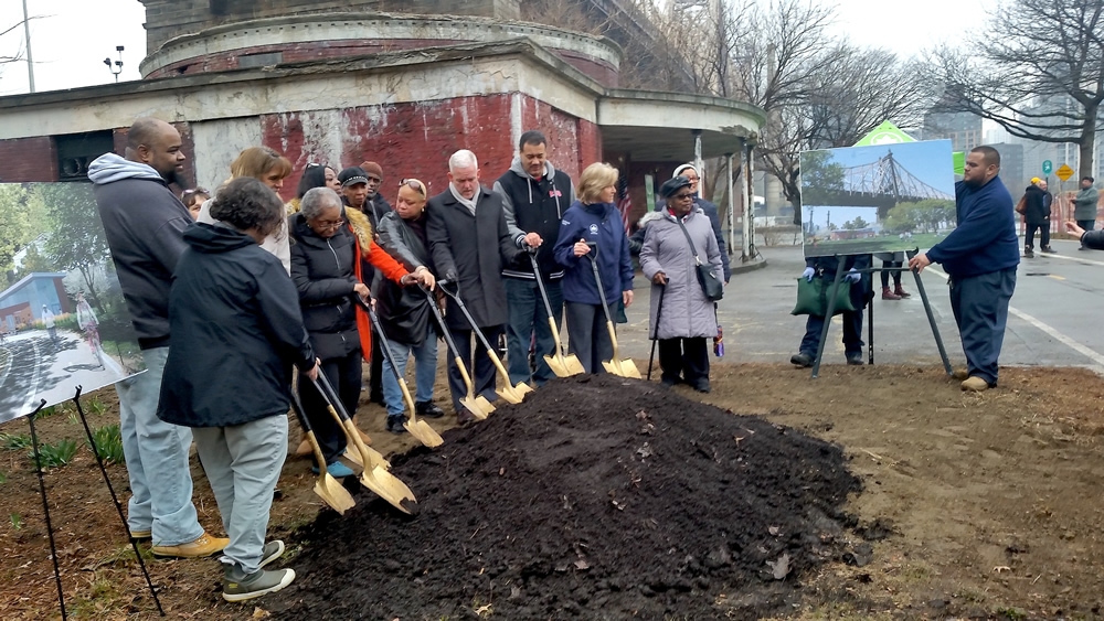 A New Field House for Queensbridge Park
