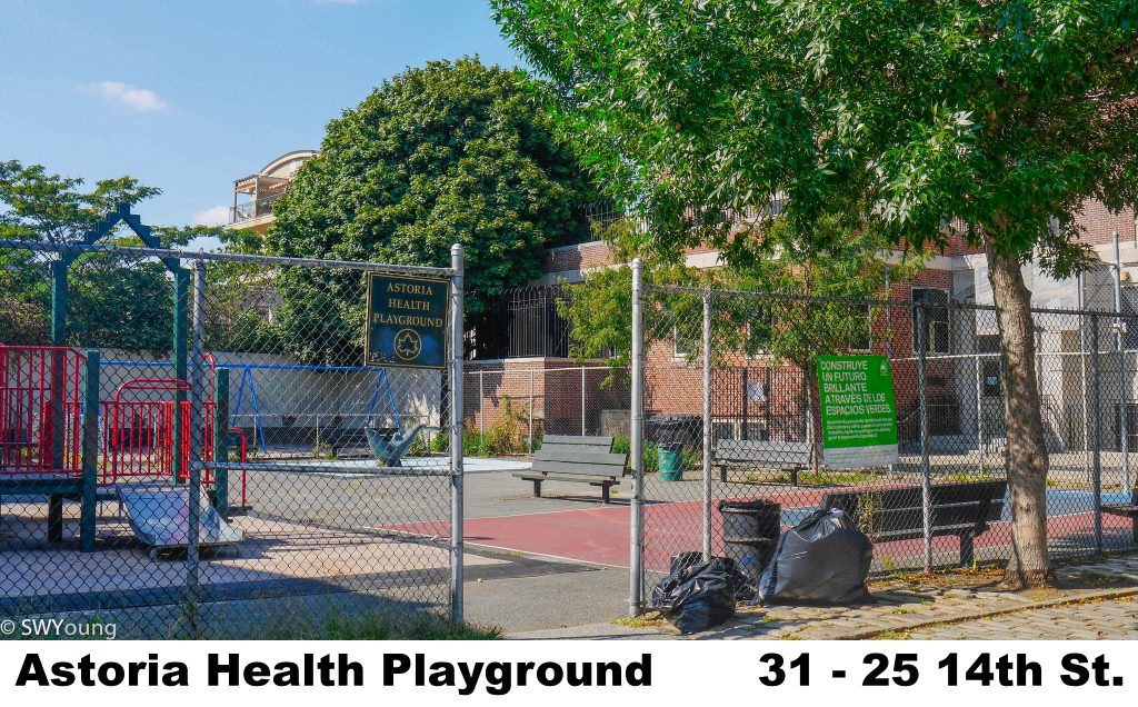 Astoria Health Playground, 31-25 14th st, Astoria NY