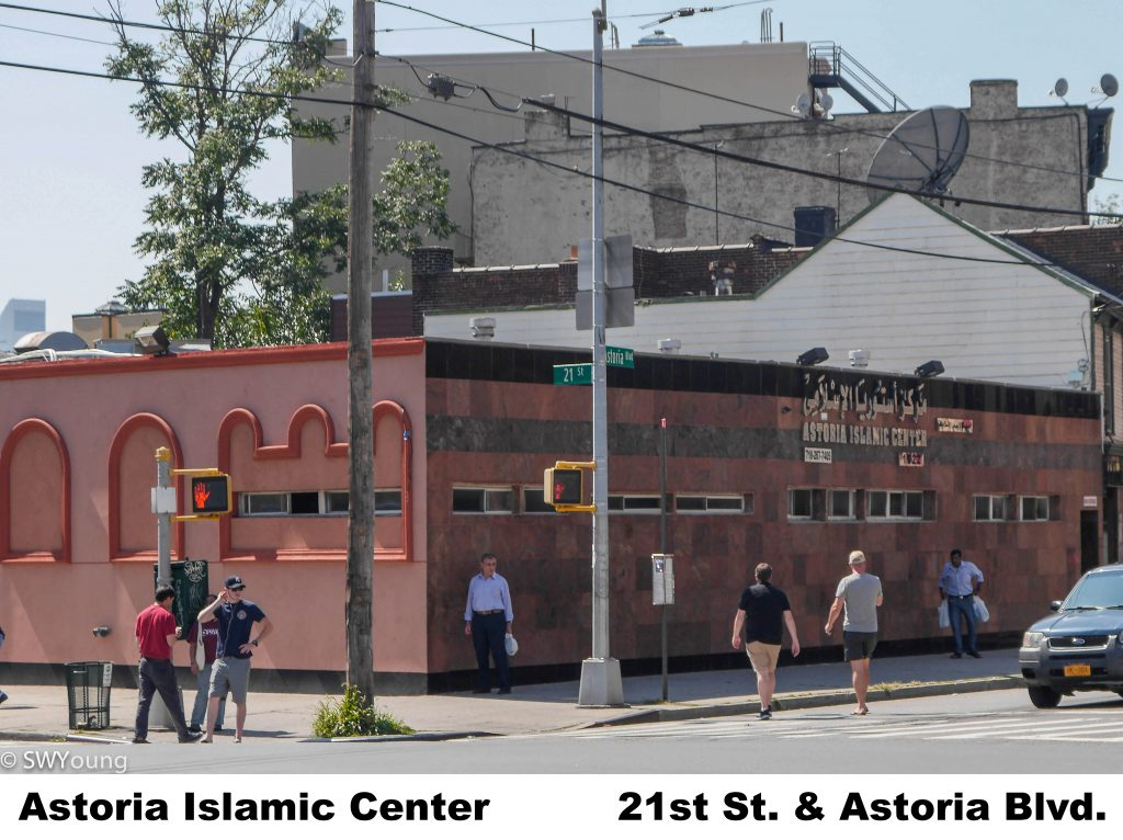 Astoria Islamic Center 21st st and Astoria Blvd