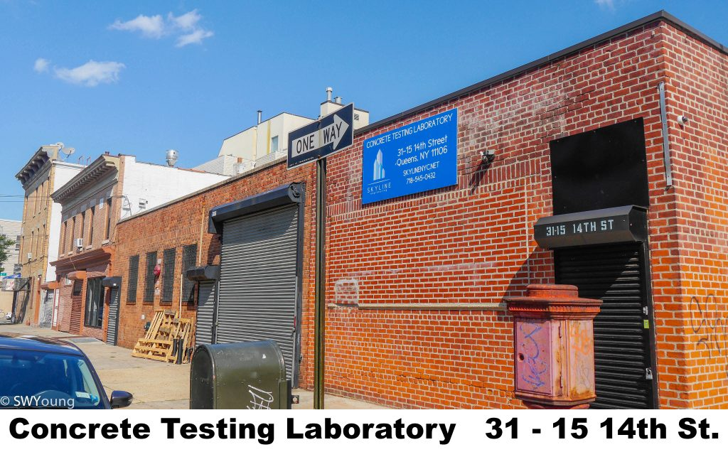 Concrete Testing Laboratory 3115 14th st Astoria