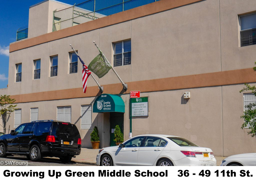 Growing Up Green Middle School, 3649 11th St, LIC NY