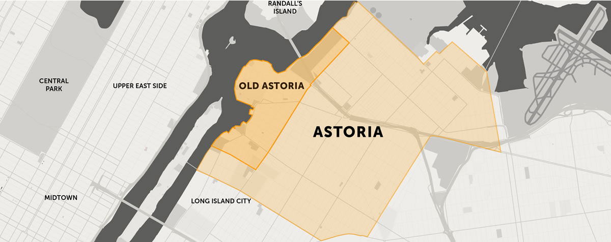 Old Astoria Boundaries