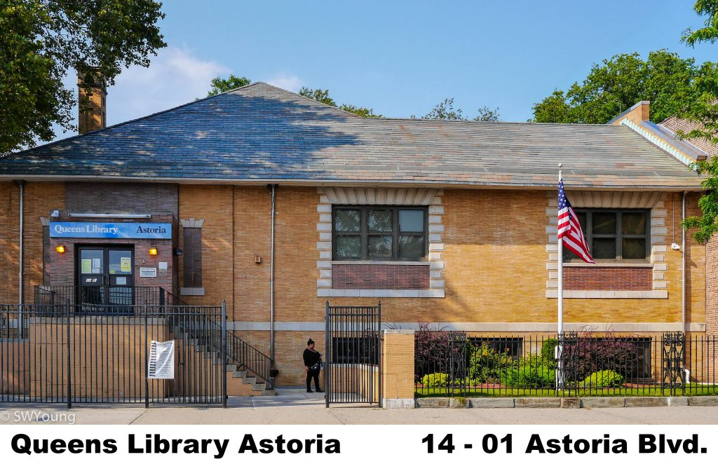 Queens Library at Astoria, 1401 Astoria Blvd, Astoria