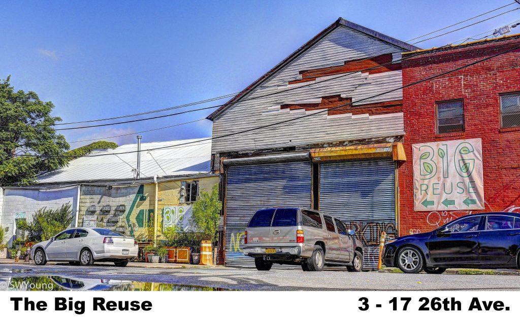 The Big Reuse, 3-17 26th Ave, Astoria NY
