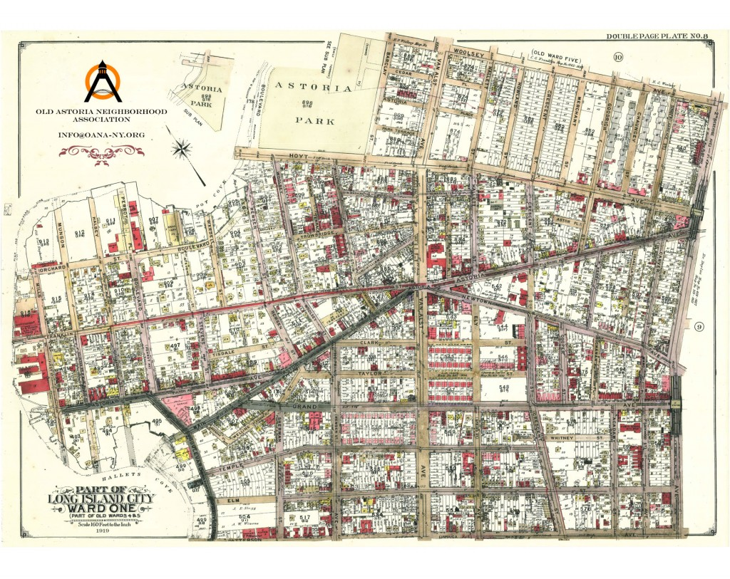Astoria Nyc Map.Discover Old Astoria From The Past To Present