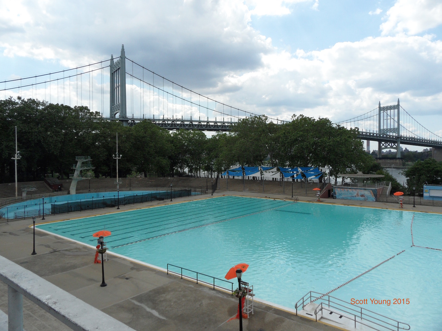 Positive use of a closed Astoria Park Pool