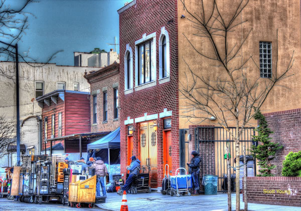 AMC SERIES FILMING IN OLD ASTORIA