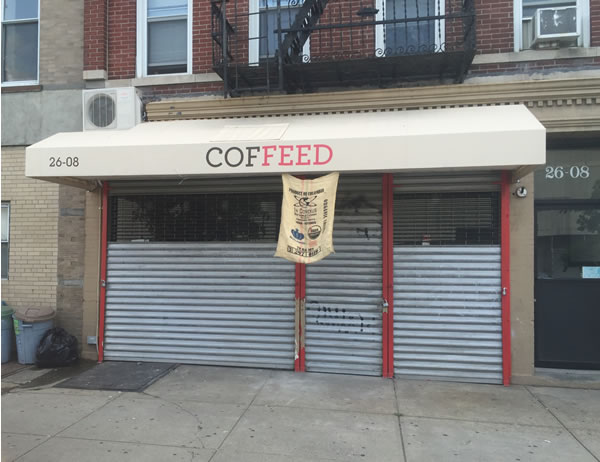 Coffeed Comes to Astoria