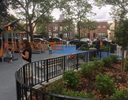 Van Alst Playground Reopens