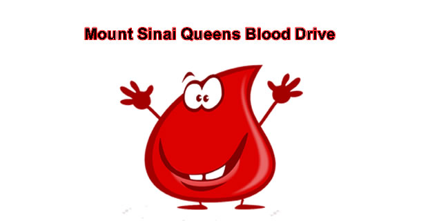Mount Sinai Queens Blood Drive