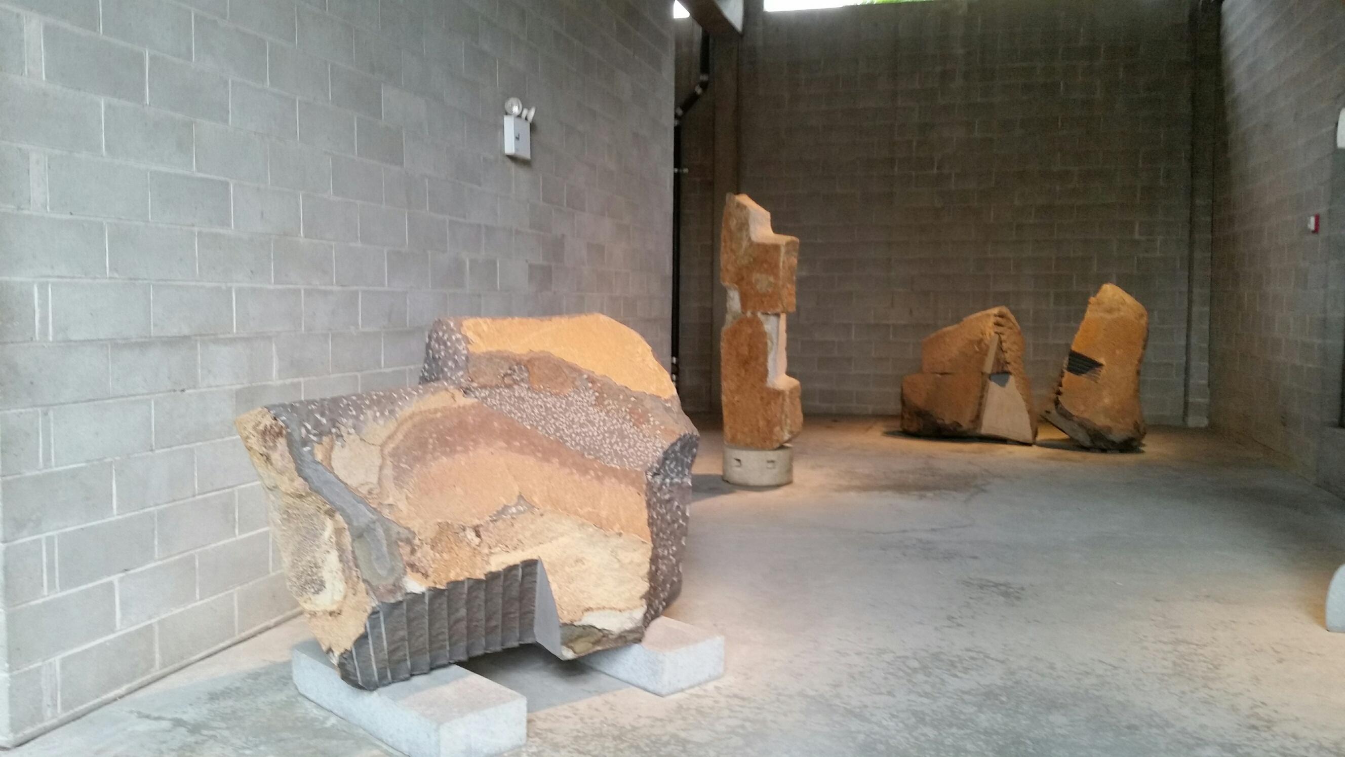July at the Noguchi Museum