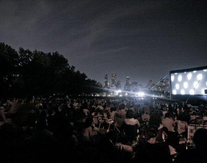 Greek Movie Night at Socrates Sculpture Park on July 26