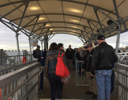 NYC_Ferry_Rockaway_Line_Disembarking