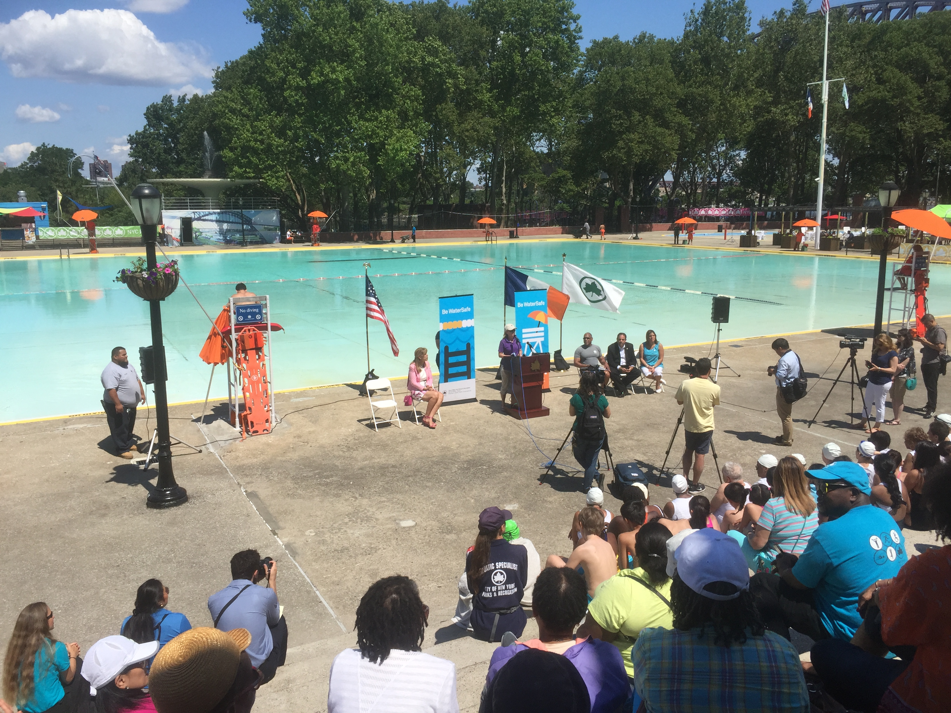 Astoria Park Pool is Open for Summer