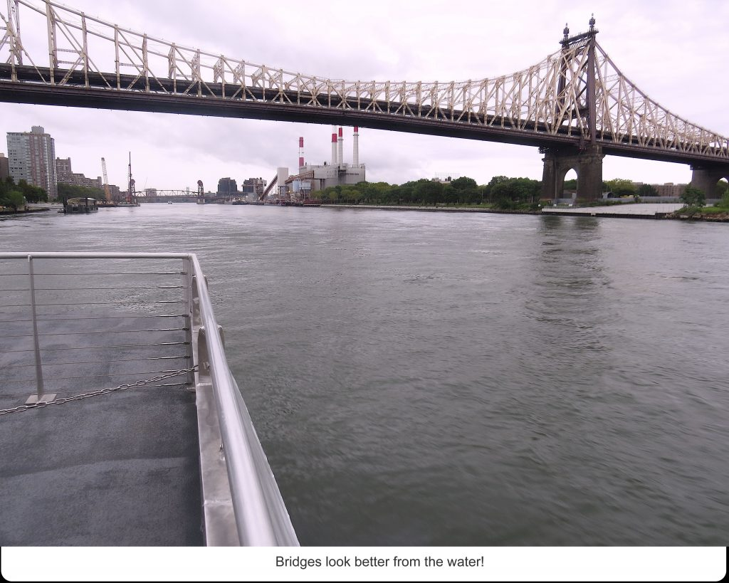 Bridges look better from the water!