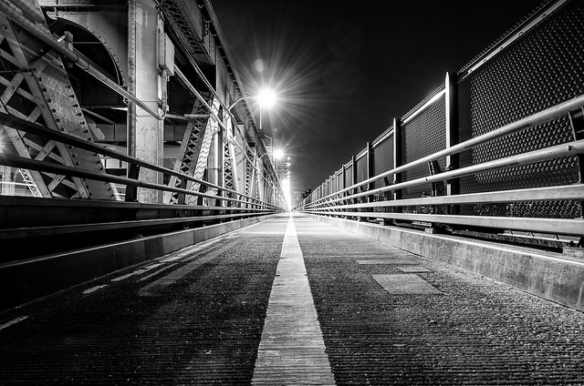 Separate Bike and Pedestrian Lanes on the Queensboro Bridge