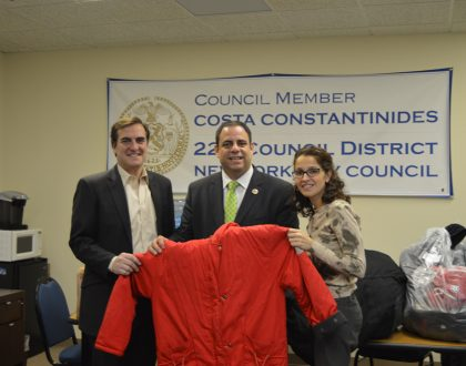 "Councilman Costa Constantinides ""Holiday Drive"""