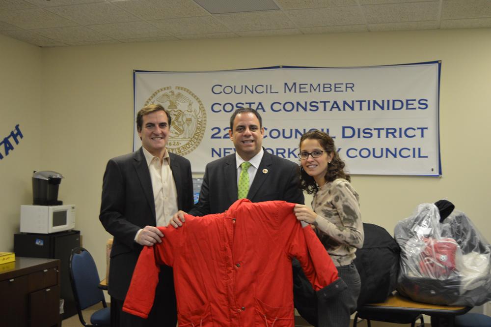 "Councilman Costa Constantinides ""Holiday Drive"""