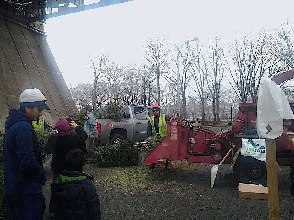 MulchFest in Astoria Park