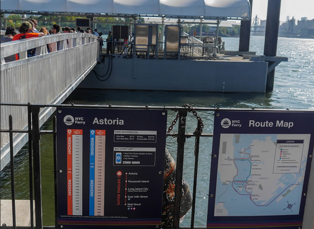 New NYC Winter Ferry Schedule