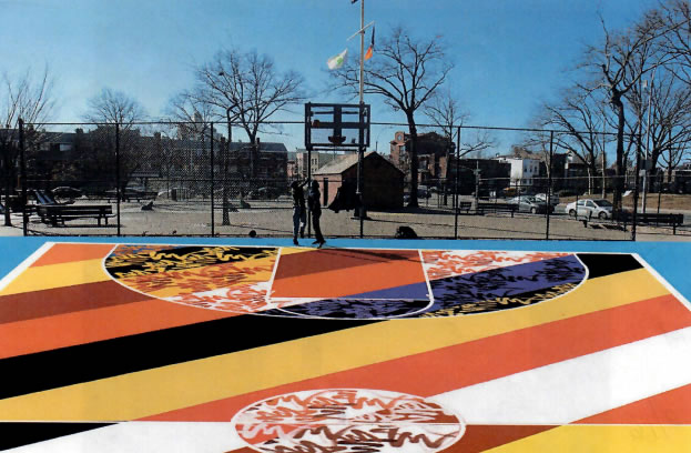 New Look Coming to the Triborough B playground