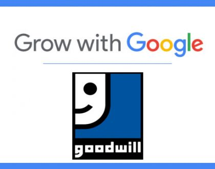 Google and Goodwill Team up