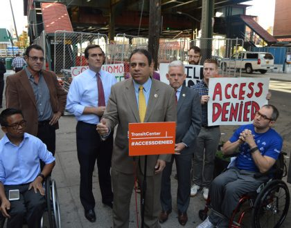 MTA Sued over Station Accessibility