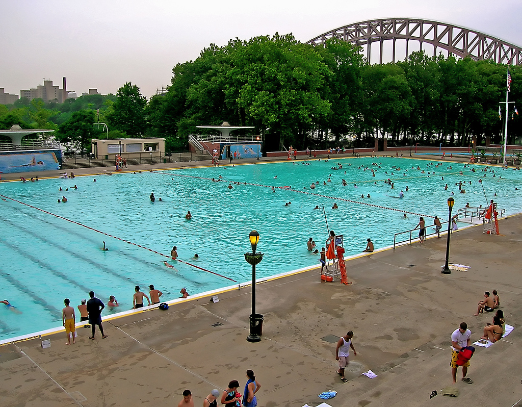 NYC Pools Closed