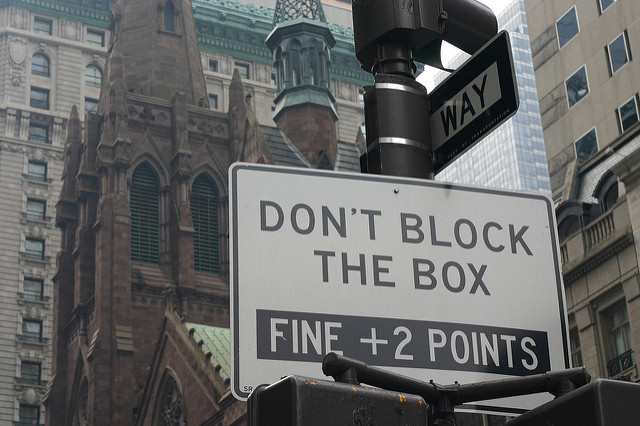 NYPD to crack down on 'block-the-box'