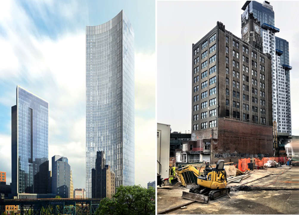 Rendering of Queens Plaza Park courtesy of Durst Organization via SkyscraperPage
