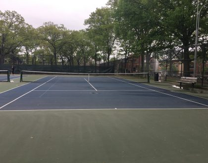 Astoria Park Tennis Courts Permits Available