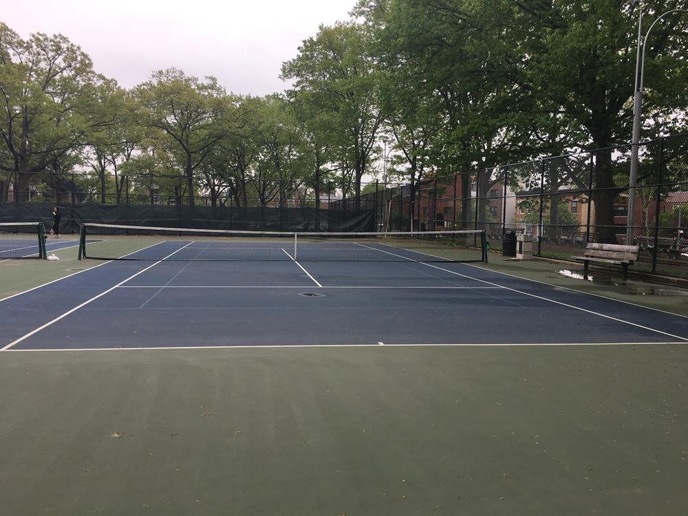 Astoria Park Tennis Courts Permits Available