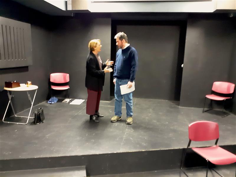 Headwall Theatre Company rehearsal